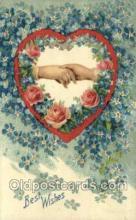 val050525 - Valentines Day, Old Vintage Antique Postcard Post Card