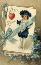 val050535 - Valentines Day, Old Vintage Antique Postcard Post Card