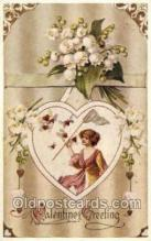 val050538 - Reproduction - Valentines Day, Old Vintage Antique Postcard Post Card