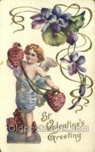 val050545 - Valentines Day, Old Vintage Antique Postcard Post Card