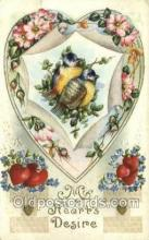 val050547 - Valentines Day, Old Vintage Antique Postcard Post Card