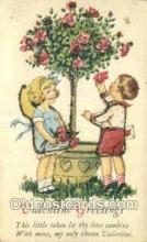 val050552 - Valentines Day, Old Vintage Antique Postcard Post Card