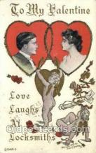val050553 - Valentines Day, Old Vintage Antique Postcard Post Card