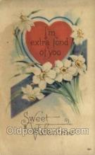 val050555 - Valentines Day, Old Vintage Antique Postcard Post Card