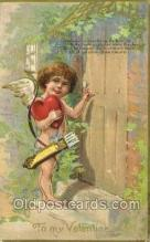 val050557 - Valentines Day, Old Vintage Antique Postcard Post Card