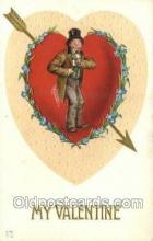val050611 - Valentines Day, Old Vintage Antique Postcard Post Card