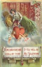 val050613 - Valentines Day, Old Vintage Antique Postcard Post Card
