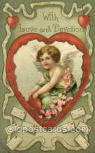 val050615 - Valentines Day, Old Vintage Antique Postcard Post Card