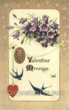 val050617 - Winsch Valentines Day, Old Vintage Antique Postcard Post Card