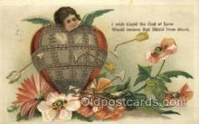 val050628 - Valentines Day, Old Vintage Antique Postcard Post Card