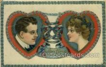 val050629 - Valentines Day, Old Vintage Antique Postcard Post Card