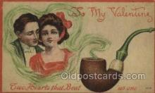 val050632 - Valentines Day, Old Vintage Antique Postcard Post Card