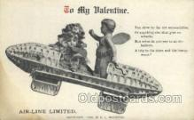 val050639 - Valentines Day, Old Vintage Antique Postcard Post Card