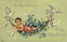 val050641 - Valentines Day, Old Vintage Antique Postcard Post Card