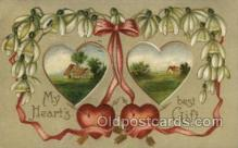 val050649 - Valentines Day, Old Vintage Antique Postcard Post Card