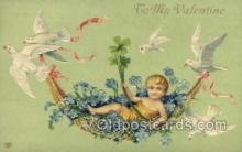 val050658 - Valentines Day, Old Vintage Antique Postcard Post Card