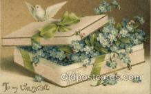 val050665 - Valentines Day, Old Vintage Antique Postcard Post Card