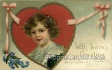 val050666 - Valentines Day, Old Vintage Antique Postcard Post Card