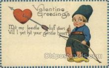 val050667 - Valentines Day, Old Vintage Antique Postcard Post Card