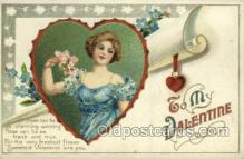 val050668 - Valentines Day, Old Vintage Antique Postcard Post Card