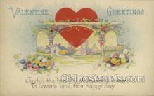val050671 - Valentines Day, Old Vintage Antique Postcard Post Card