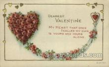 val050674 - Valentines Day, Old Vintage Antique Postcard Post Card
