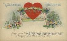 val050675 - Valentines Day, Old Vintage Antique Postcard Post Card