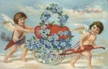 val050676 - Valentines Day, Old Vintage Antique Postcard Post Card