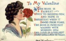 val050678 - Valentines Day, Old Vintage Antique Postcard Post Card