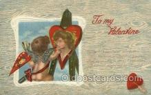 val050679 - Valentines Day, Old Vintage Antique Postcard Post Card