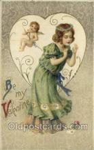val050684 - Artist Samuel Schmucker Valentines Day, Old Vintage Antique Postcard Post Card