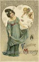 val050685 - Artist Samuel Schmucker Valentines Day, Old Vintage Antique Postcard Post Card