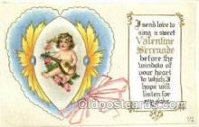 val050692 - Valentines Day Old Vintage Antique Postcard Post Cards