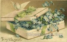 val050693 - Valentines Day Old Vintage Antique Postcard Post Cards