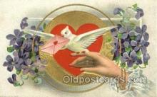 val050697 - Valentines Day Old Vintage Antique Postcard Post Cards