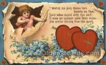 val050698 - Valentines Day Old Vintage Antique Postcard Post Cards