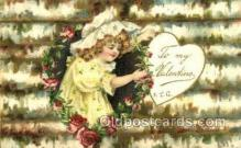 val050699 - Valentines Day Old Vintage Antique Postcard Post Cards