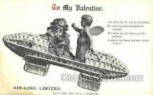 val050700 - Valentines Day Old Vintage Antique Postcard Post Cards