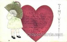 val100008 - Valentines Day Postcard Post Cards