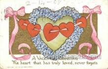 val100022 - Valentines Day Postcard Post Cards