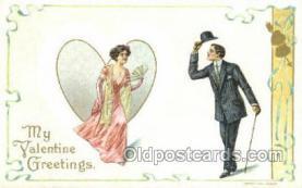 val100052 - Artist H Wessler Valentines Day Postcard Post Cards