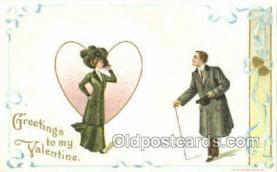 val100053 - Artist H Wessler Valentines Day Postcard Post Cards