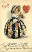 val100192 - Artist Clapsaddle, Valentines Day Postcard Post Cards