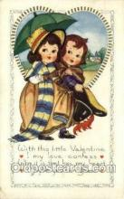 val100194 - Whitney Made Valentines Day Postcard Post Cards