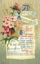 val100208 - Publisher John Winsch, Valentines Day Postcard Post Cards