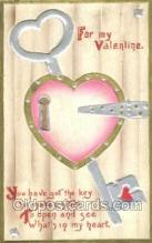 val100213 - Valentines Day Postcard Post Cards