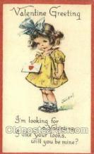 val100215 - Artist Twelvetrees, Valentines Day Postcard Post Cards