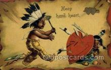 val100218 - Valentines Day Postcard Post Cards