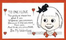 val100236 - Valentines Day Postcard Post Cards