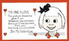 val100237 - Valentines Day Postcard Post Cards